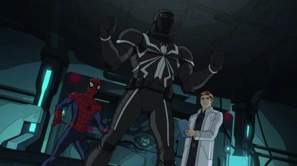 Agent Venom(ultimate Spiderman Cartoon)   Wiki   Marvel Amino - photo#31
