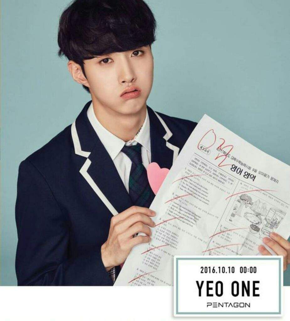 Tentastic Information - Yeo One Version | Pentagon 텐타스틱