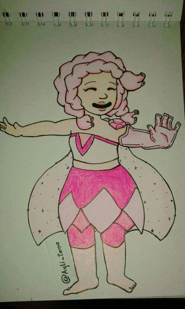 ♡CUARZO♡ROSA♡GEMSONA(para concurso) | Steven Universe Español Amino