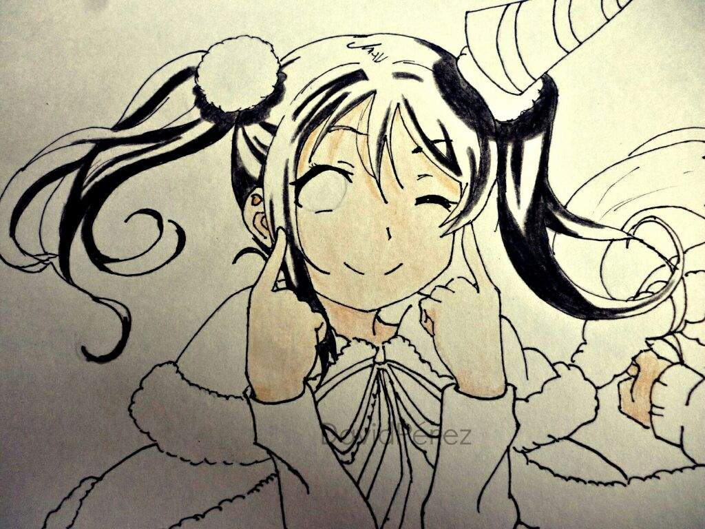 Dibujo~Nico~Nozomi~Love Live! ❤   •Anime• Amino