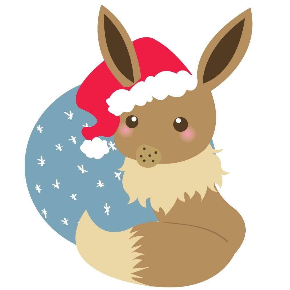 Christmas Eevee.Merry Christmas Eevee Pokemon Amino
