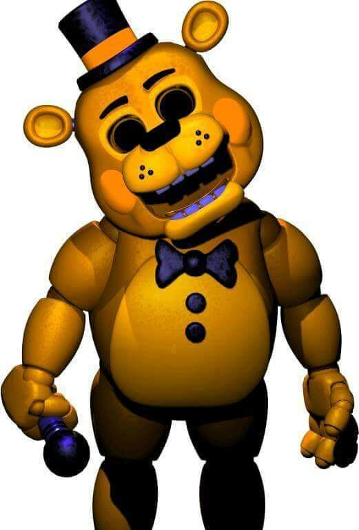 Golden Freddy Toy