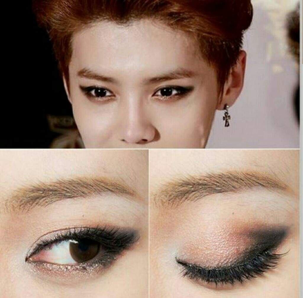Makeup Eyes Exo Luhan Korean Beauty Amino