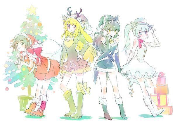 Rwby Christmas.Merry Rwby Christmas Rwby Amino