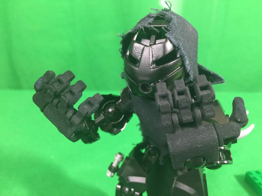 superposable 3 d printed hand for jex bionicle amino