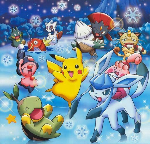 Pokemon Christmas.Top 5 Favorite Ice Type Pokemon Christmas Special