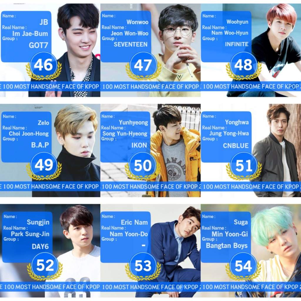 Top 100 most handsome faces in Kpop❤️❤️ | K-Pop Amino