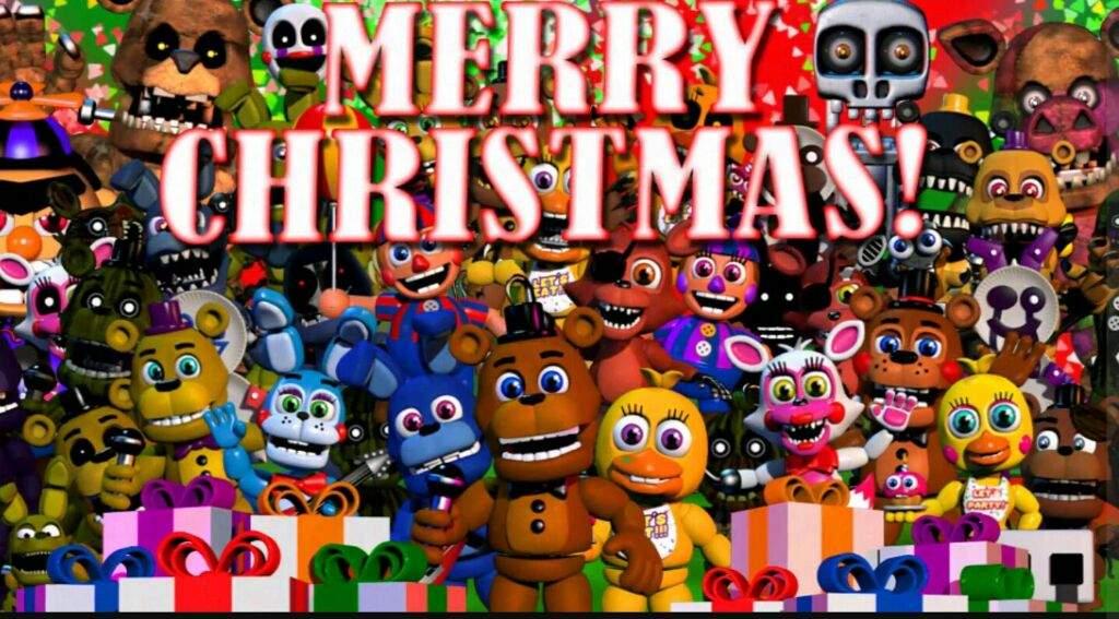 Fnaf Christmas.Merry Fnaf Christmas Five Nights At Freddy S Amino