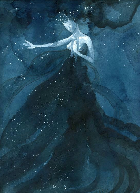 Nyx Goddess Of The Night The Witches Circle Amino