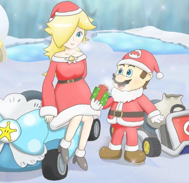 Christmas Mario Kart.Merry Christmas To All From Mka Team Mario Kart Amino