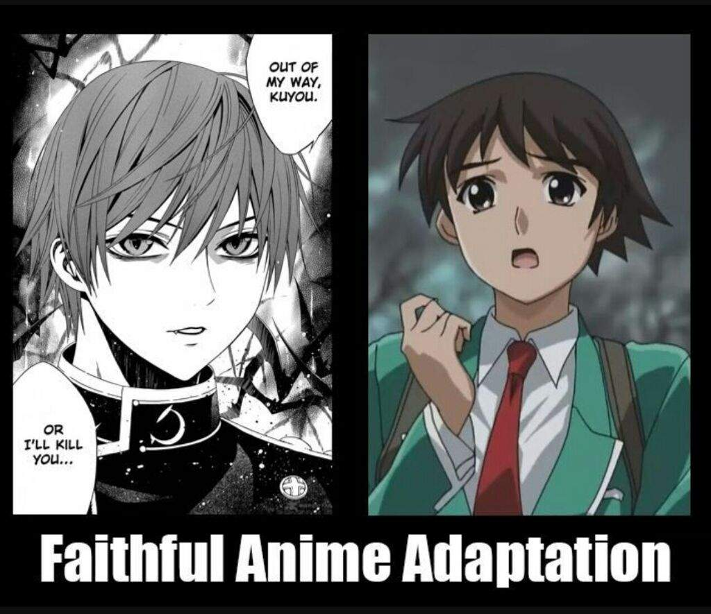 Read Manga Online Rosario Vampire: Rosario + Vampire Anime Vs Manga