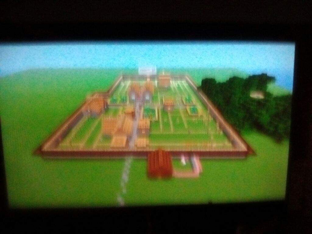 This is my SAVE VILLAGE MAP sorry it's blurry | Minecraft Amino
