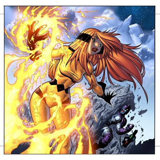 Crystal Inhumans Comic