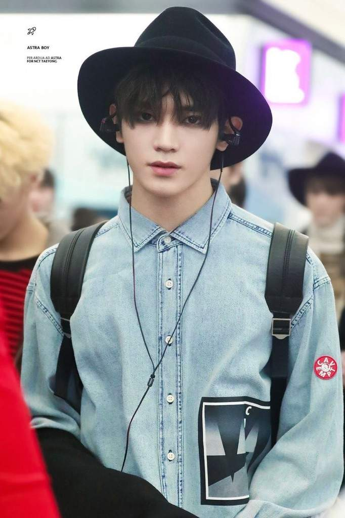 Taeyong's Black hair appreciation post part 1 | NCT (엔시티 ...