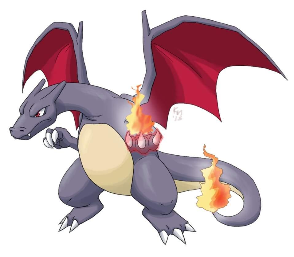 pokemon shiny charizard - 820×729