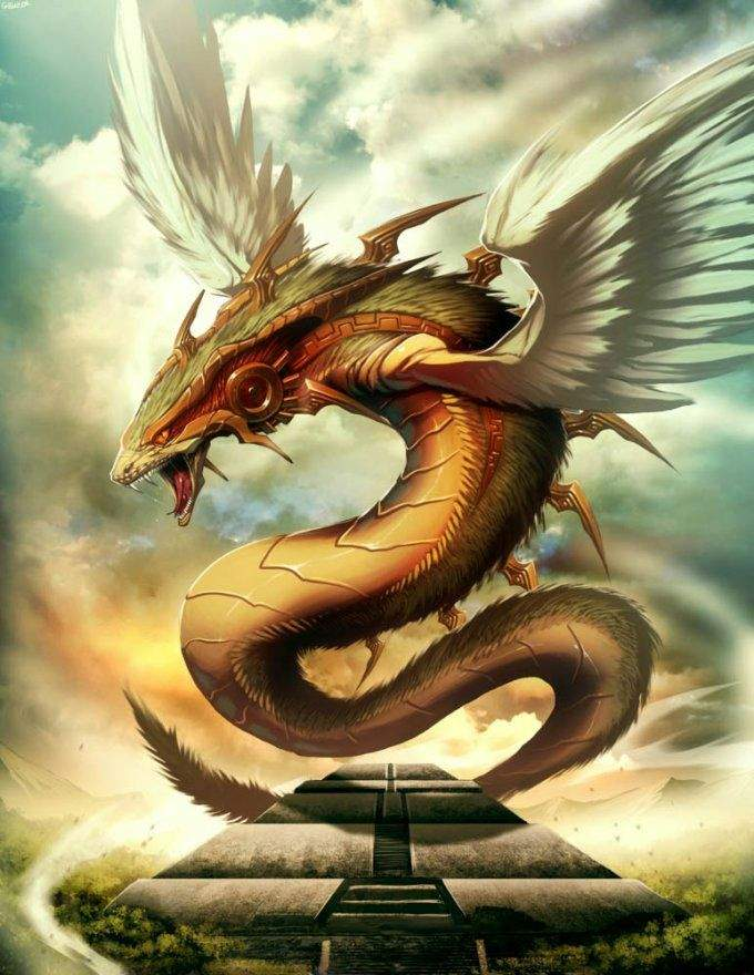 Criatura Lendária - Quetzalcoatl   [ RPG ] Guerra Das Raças Amino