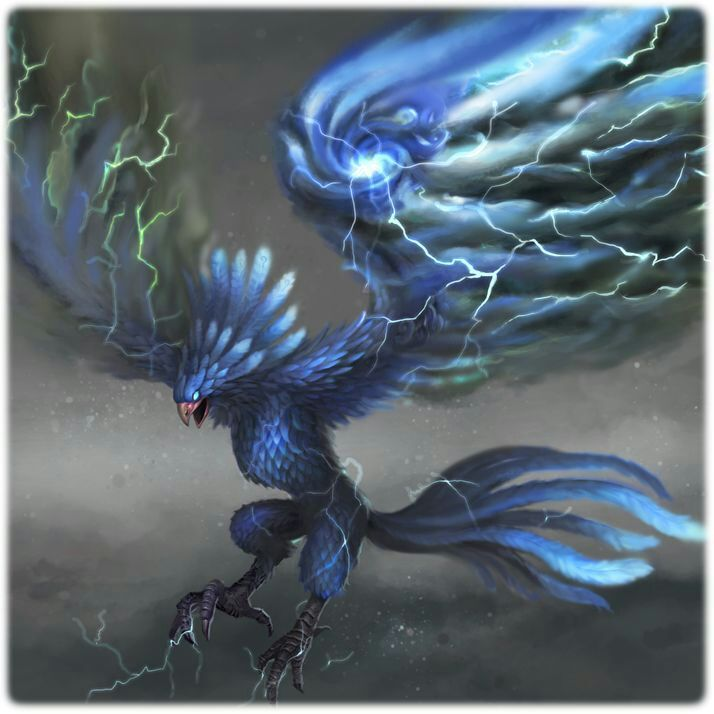 Aren't A Thunderbird And Hippogriff Oddly Similar?