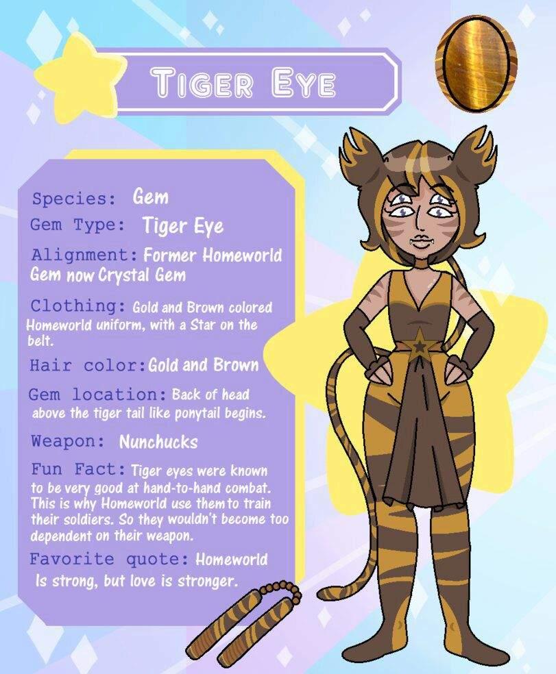 meet tiger eye anime amino
