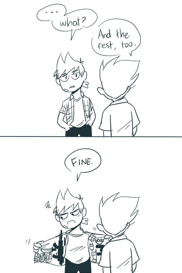 tomtord ship comic?? first date | 🌎Eddsworld🌎 Amino