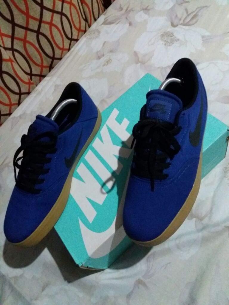 cheap for discount 1c01f f1db5 Nike SB CHECK CANVAS (DP Royal Blue - Black - Gum Light Brown ...