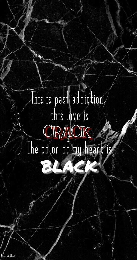 Black Pink Lyrics Wallpapers K Pop Amino