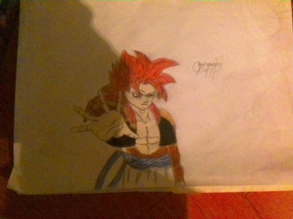 Gogeta Ssj4 Arte Amino Amino