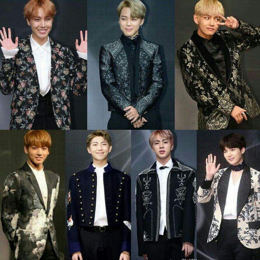 Blood Sweat and Tears era was another blessing from BTS to us Armys, and  their outfits for this concept made them look so much like royalty!