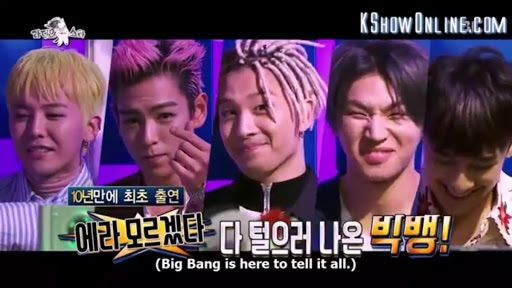 Eng Sub) BIGBANG on Radio Star | Big Bang Amino Amino