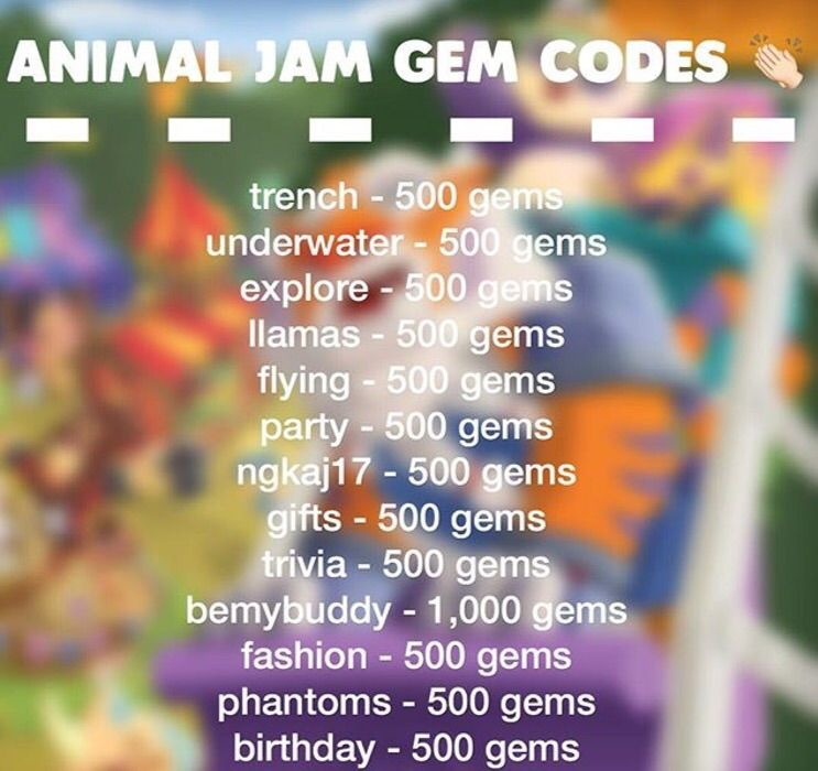 Animal Jam Codes! | AJ Amino Amino