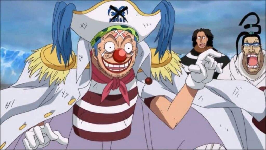Buggy's Marineford Joke!   One Piece Amino