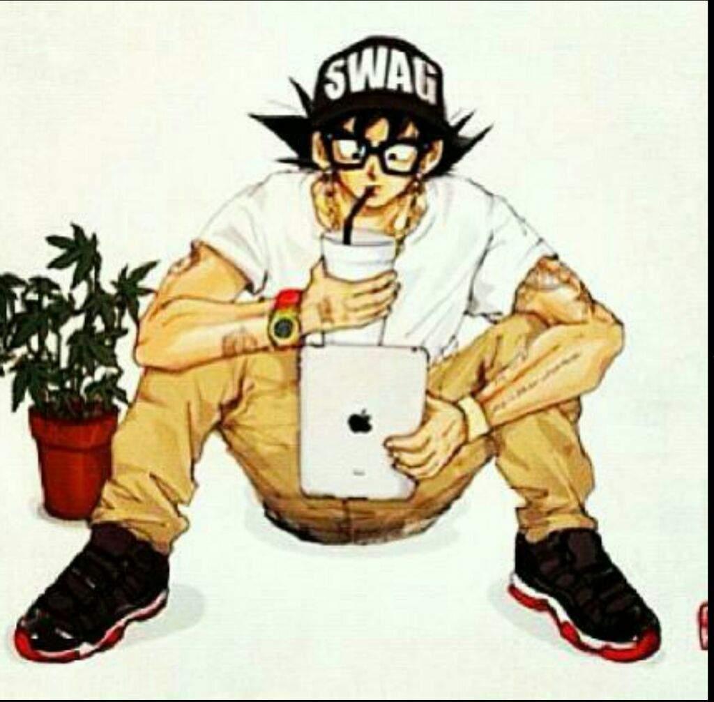 Gohan Swag