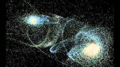 La colisión entre Andrómeda y La Via Lactea | Mundo Secreto Amino
