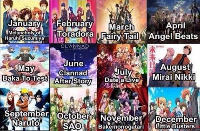 Anime Characters Born On September 6 : Which anime should you watch based on month amino