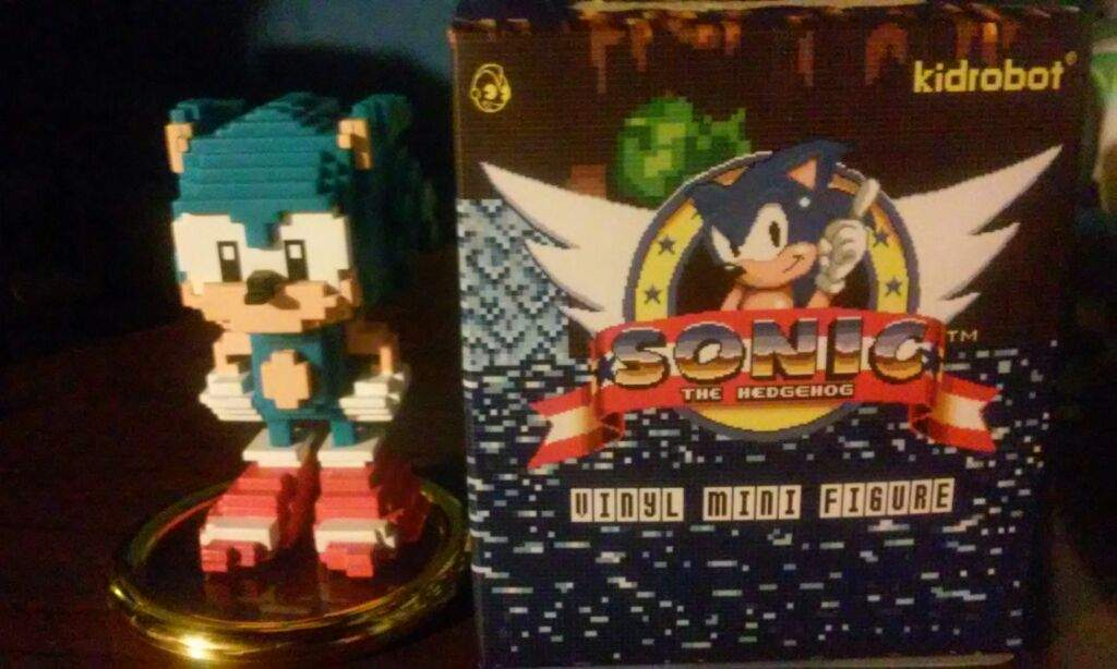 Sonic Vinyl Mini Figure Sonic The Hedgehog Amino