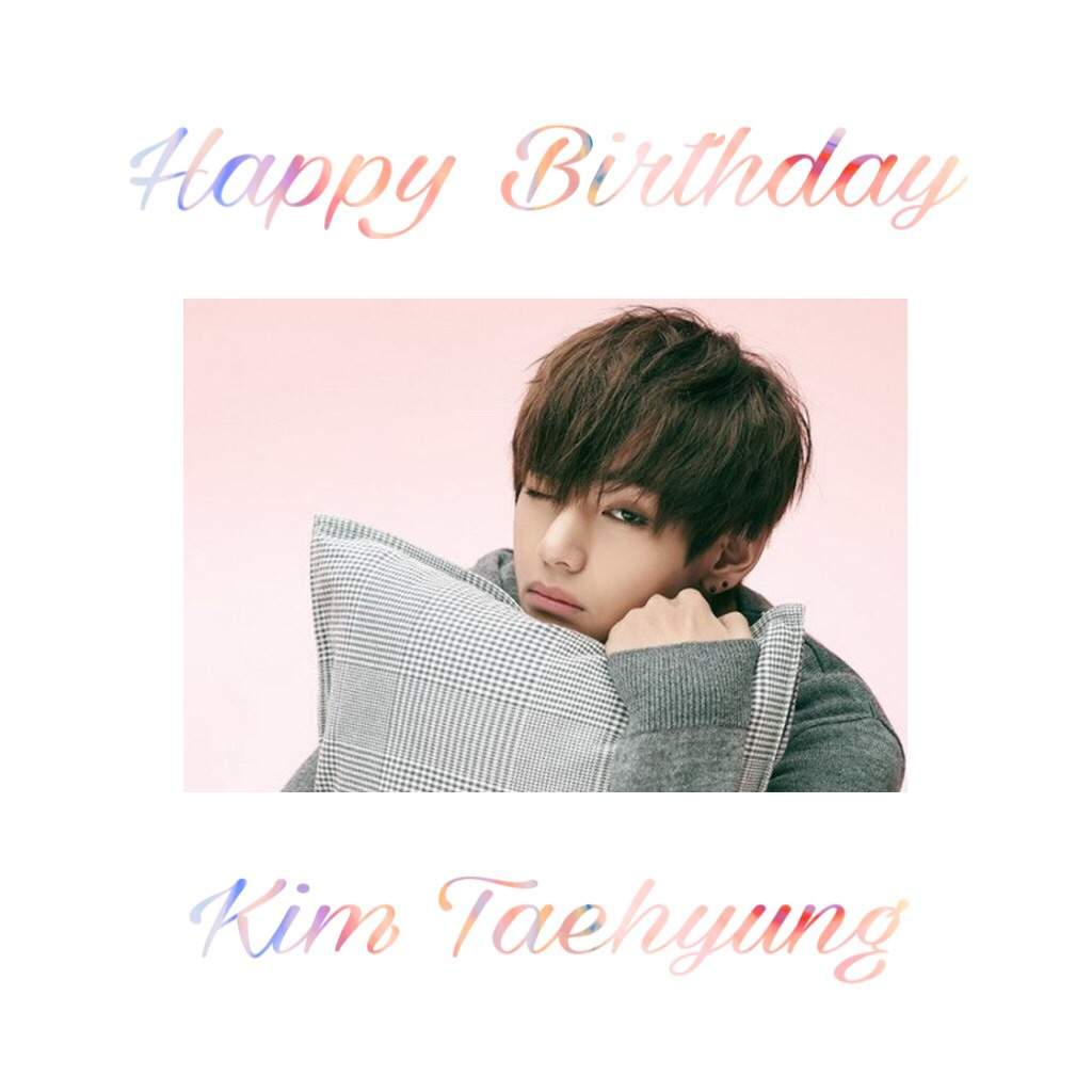 bts v birthday HAPPY BIRTHDAY TO BTS V 💕   K Pop Amino bts v birthday