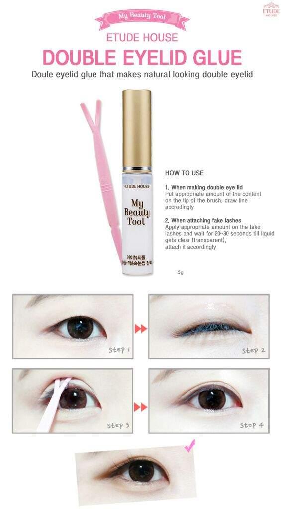 How to make double eyelid | Etude house | Korean Beauty Amino