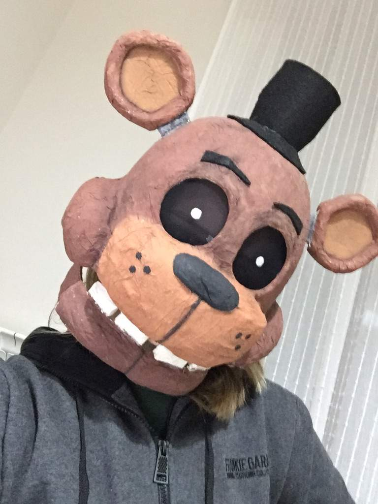 how to make a freddy fazbear mask out of paper best pictures of