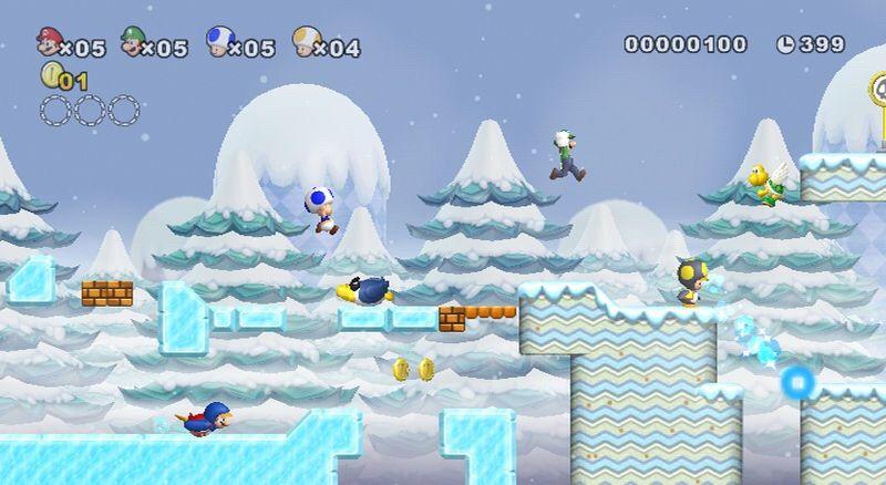 Beta Elements And Unused Features In New Super Mario Bros Wii Part