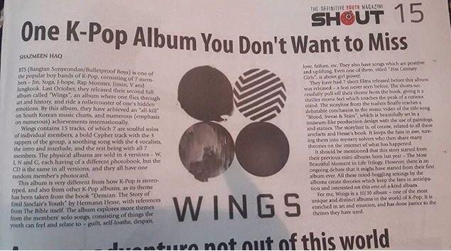 BTS On Bangladeshi NewsPaper?!   ARMY's Amino