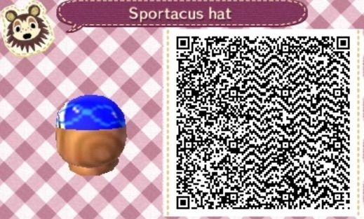 Animal Crossing New Leaf Sportacus Shirt And Hat Qr Codes Lazytown Amino