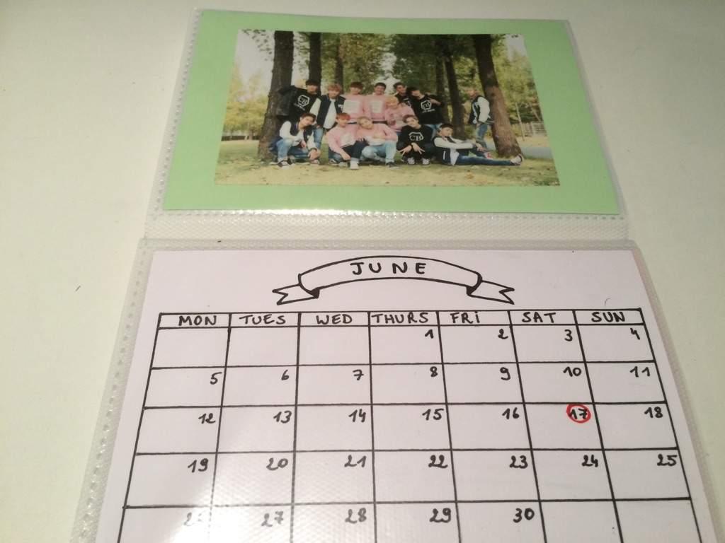 Diy Kpop Calendar : Diy kpop calendar ☁ k pop amino