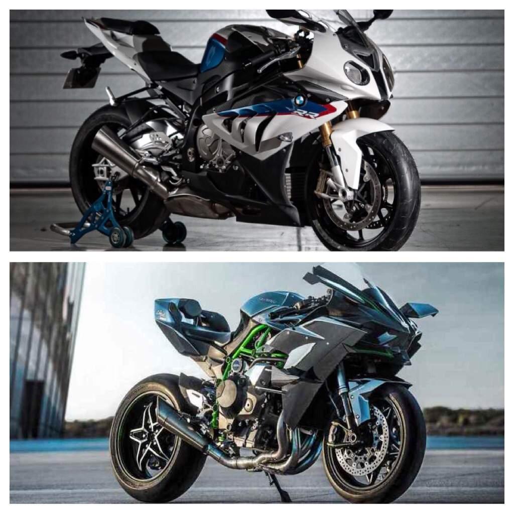 Kawasaki H2r Vs Bmw S1000rr Motorcycle Amino Amino