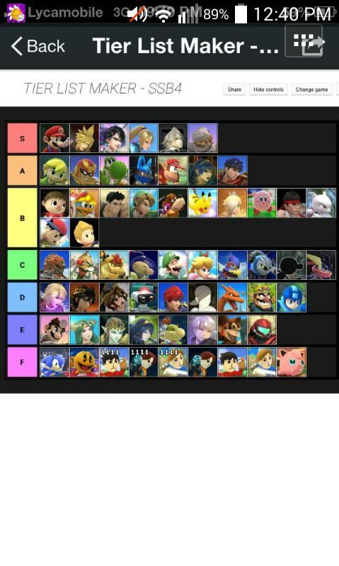 Esam tier list