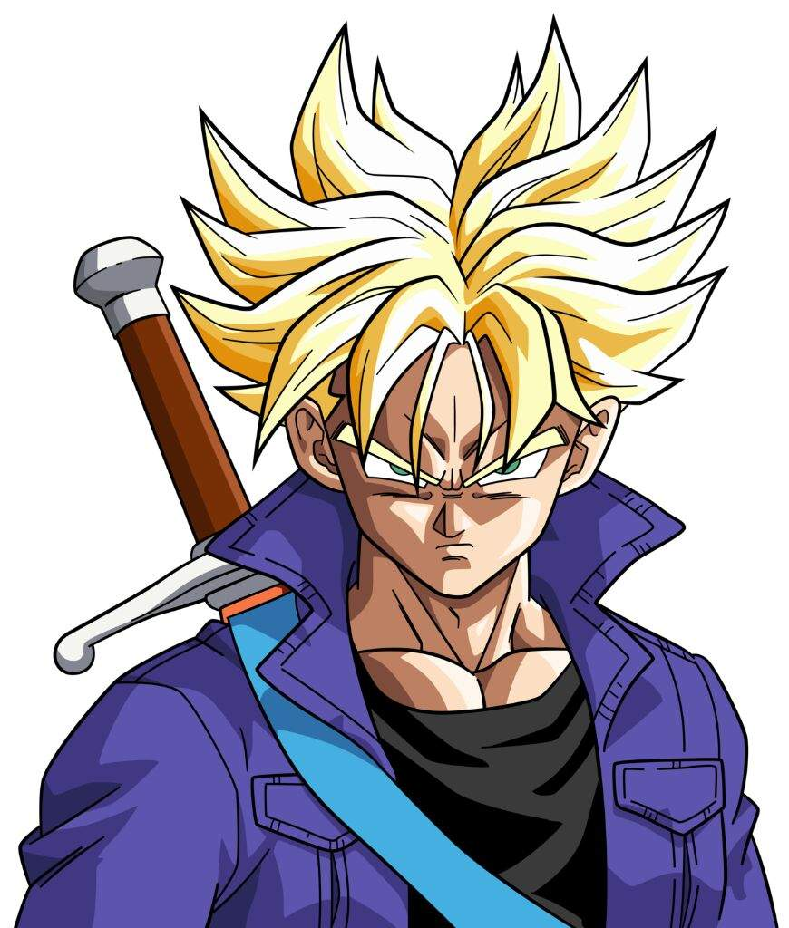 The best super saiyan hairstyles dragonballz amino - Trunks super sayen ...