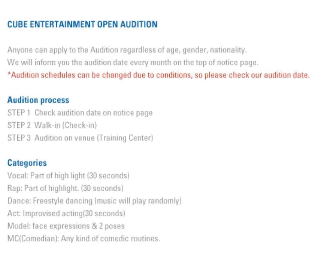 ⭐ [UPDATE] AUDITIONING FOR INT  FANS ⭐ | K-Pop Amino