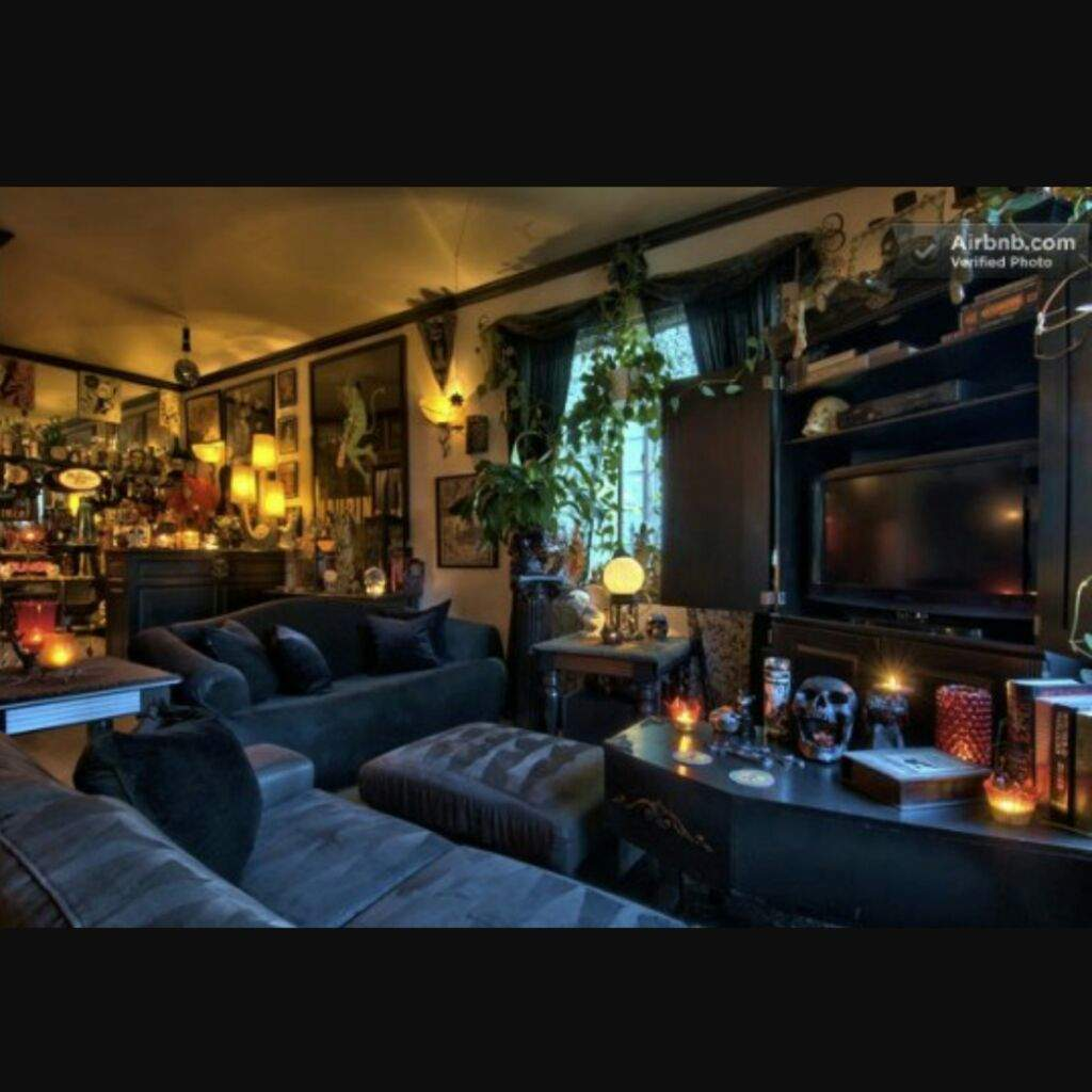 Horror Home Decor - Living Room