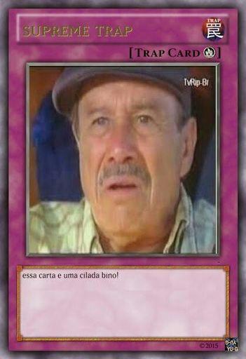 Resultado de imagem para cilada bino yugioh card