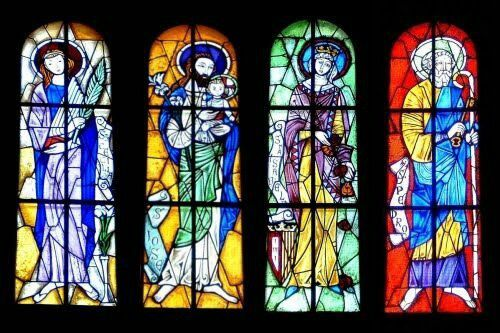 Generally The Stained Glass Windows Were Made In A Handmade Way And Over Time Techniques Improved Appearing Quite Rich Detailed Models Of