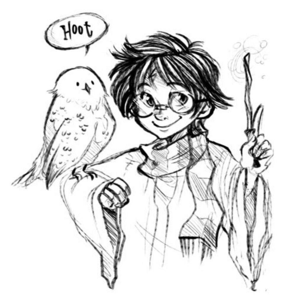 Las mejores versiones de Harry Potter (dibujo) | •Harry Potter ...