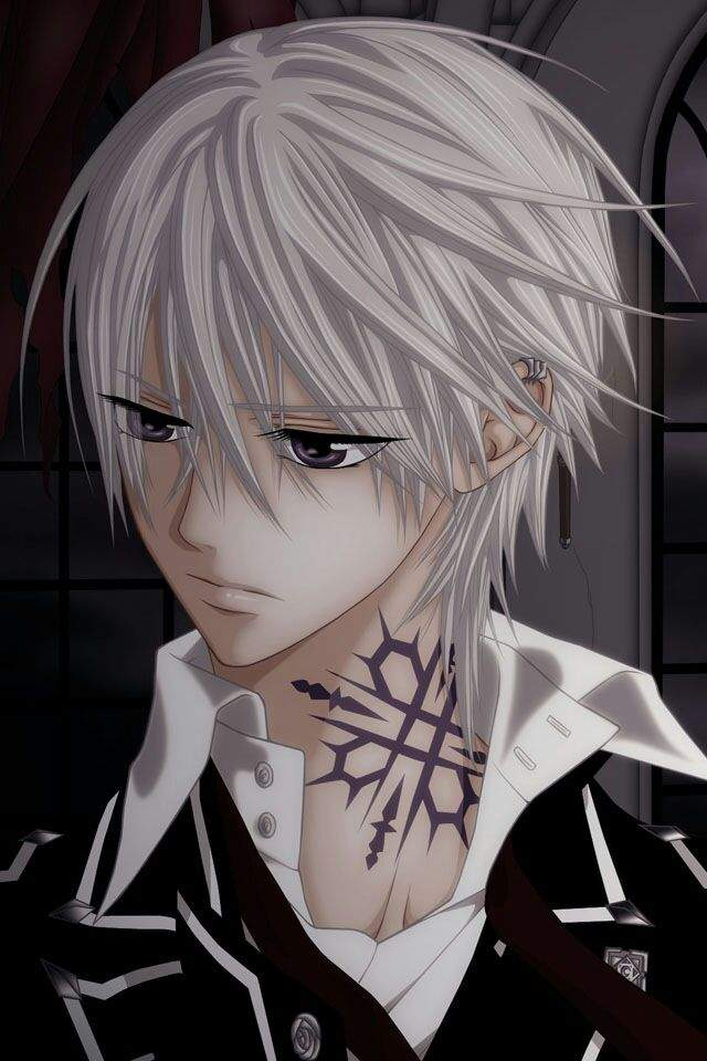 GRAY HAIR FETISH?! Vampire.Ghoul.Undertaker.Ninja.Human